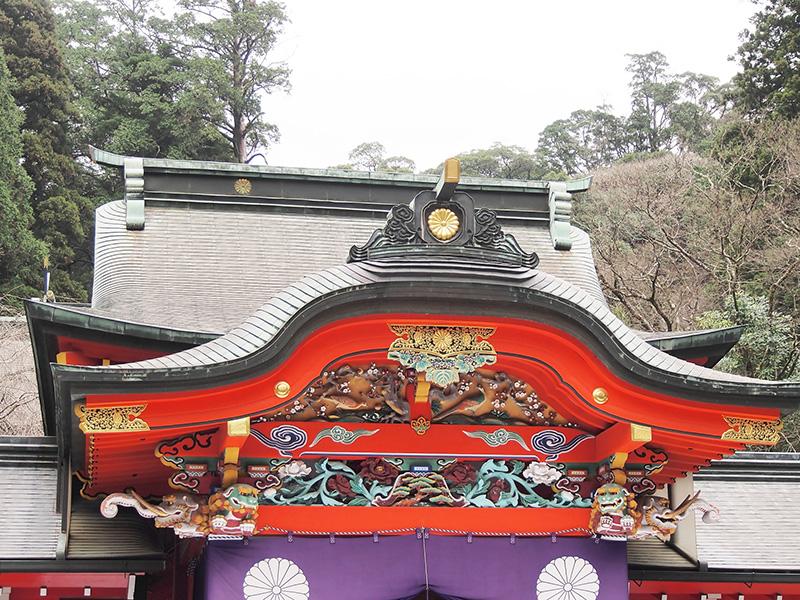 ②霧島神宮(昼食)