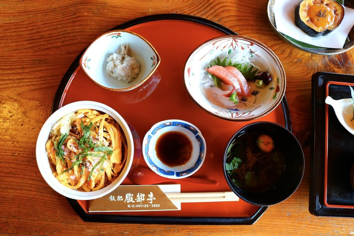 ③昼食:服部亭または伊東邸