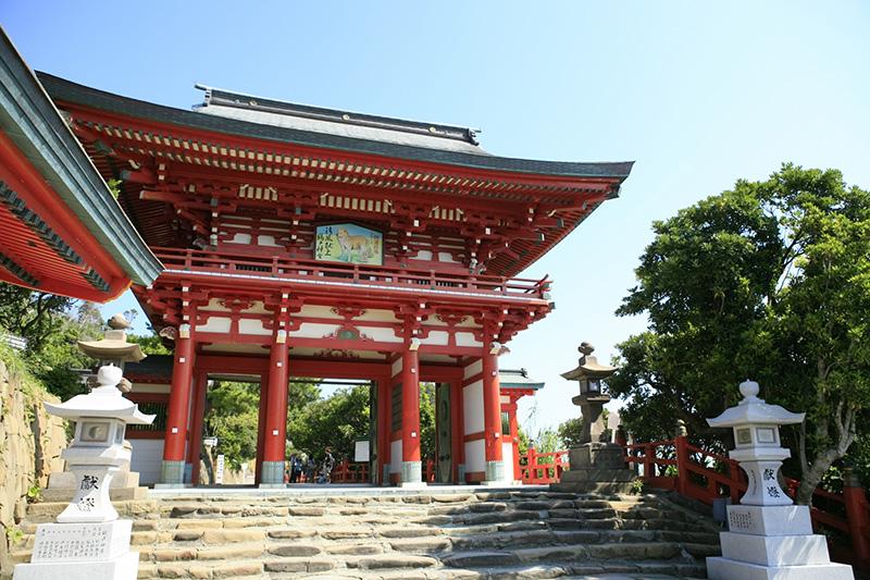 ②鵜戸神宮